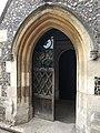 St Mary, Monken Hadley entrance 1 July 2017.jpg