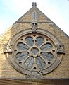 St Michael and All Angels Church, Lowfield Heath (Rose Window).jpg