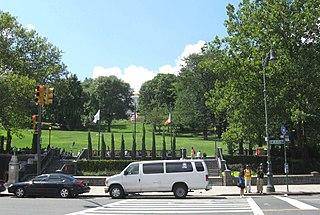 St. Nicholas Park Public park in Manhattan, New York