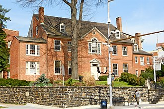 Cathedral Hill Historic District (Baltimore, Maryland) - Image: St Pauls Rectory Baltimore