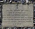 St Peter, Gustard Wood, Herts - Foundation stone - geograph.org.uk - 442999.jpg