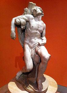 St Sebastian (Gianlorenzo Bernini).JPG
