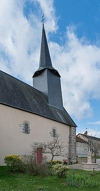 St Symphorian church in Tersannes 13.jpg