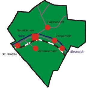Neunkirchen (Siegerland) - Constituent communities