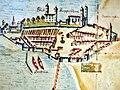 Stadtmuseum Rapperswil - Karte von 1804 von Rapperswil-Jona, Ausschnitt 2013-02-02 16-37-58 (P7700).jpg