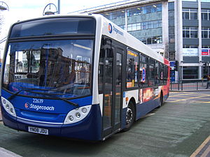 Stagecoach Sheffield - Alexander Dennis Enviro300 in Sheffield