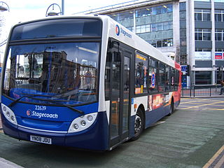 Stagecoach Sheffield Bus operator in Sheffield (South Yorkshire)