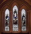 Stained glass window Southwark Cathedral 1 (5137341182).jpg