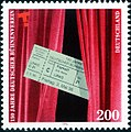 Stamp Germany 1996 Briefmarke Deutscher Bühnenverein.jpg