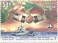 Stamp of India - 2008 - Colnect 158014 - Indian Navy Reaching Out To Maritime Neighbours.jpeg