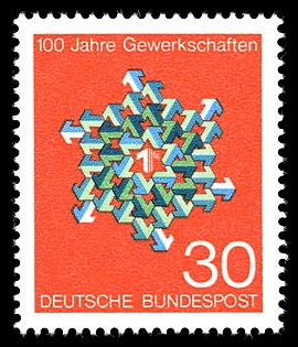 Stamps of Germany (BRD) 1968, MiNr 570