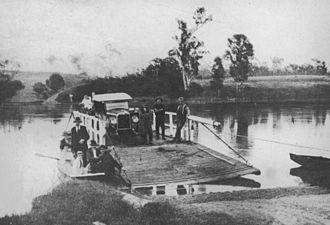 Moggill, Queensland - Moggill Ferry, 1928