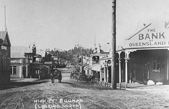 Boonah, Queensland - High Street, Boonah, circa 1917