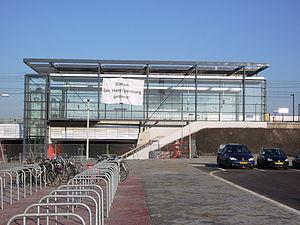 Den Haag Ypenburg railway station - Image: Station Den Haag Ypenburg dec 2005