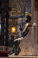 Statue of Saint Peter by Arnolfo di Cambio 04.jpg