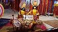 Statues decorated on the eve of Krishna Janmashtami.jpg