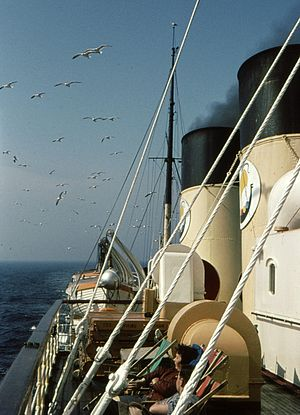 Viking Line - Image: Steam Ship Viking 1963