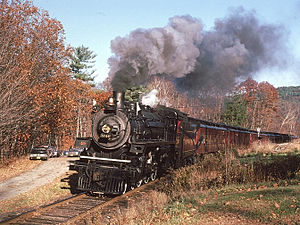 A photograph of CPR 1246 at Brockway Mills, VT, October 24, 1981