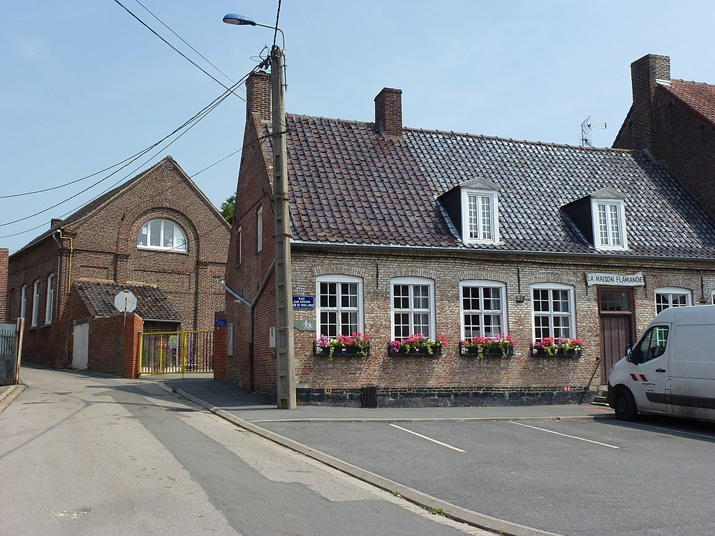 Datei steenbecque nord fr la maison flamande ancienne for B b maison du nord