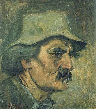 Stepan Aghajanian - Self-portrait, 1926