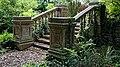 Steps and balustrade at Easton Lodge Gardens, Little Easton, Essex, England 1.jpg