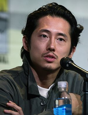 Steven Yeun - Yeun at the San Diego Comic-Con in 2016