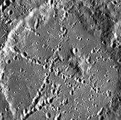 Stevenson crater (MESSENGER)