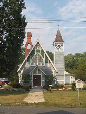 Christ Church (Stevensville, Maryland) - Image: Stevensville, Maryland (08 2007) 8