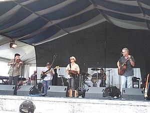 Steve Riley and the Mamou Playboys - Steve Riley and the Mamou Playboys perform at the New Orleans Jazz & Heritage Festival, April 2009.