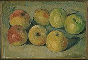 Still life with seven apples, by Paul Cézanne.jpg