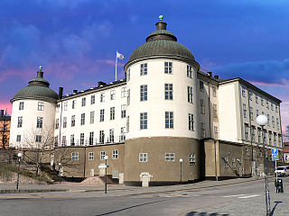 Wrangel Palace has a long history. The southern tower used to be part of Gustav Vasas defence fortifications from the 1530s