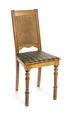 Stol med randig sits och rygg i rotting - Hallwylska museet - 108508.tif