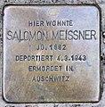 Stolperstein Bamberger Str 31 (Schöb) Salomon Meissner.jpg