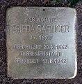 Stolperstein Livländische Str 20 (Wilmd) Frieda Saenger.jpg