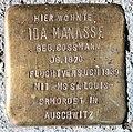 Stolperstein Pariser Str 37 (Wilmd) Ida Manasse.jpg