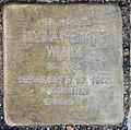 Stolperstein Savignyplatz 4 (Charl) Hanna Renate Wenik.jpg