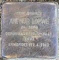 Stolperstein Schillerstr 14 (Charl) Arthur Loewe.jpg