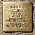 Stolperstein Togostr 78 (Weddi) Ella Trebe.jpg