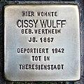 Stolperstein Verden - Cissy Wulff (1867).jpg