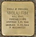Stolperstein für Nikolaj Frim (Murska Sobota).jpg