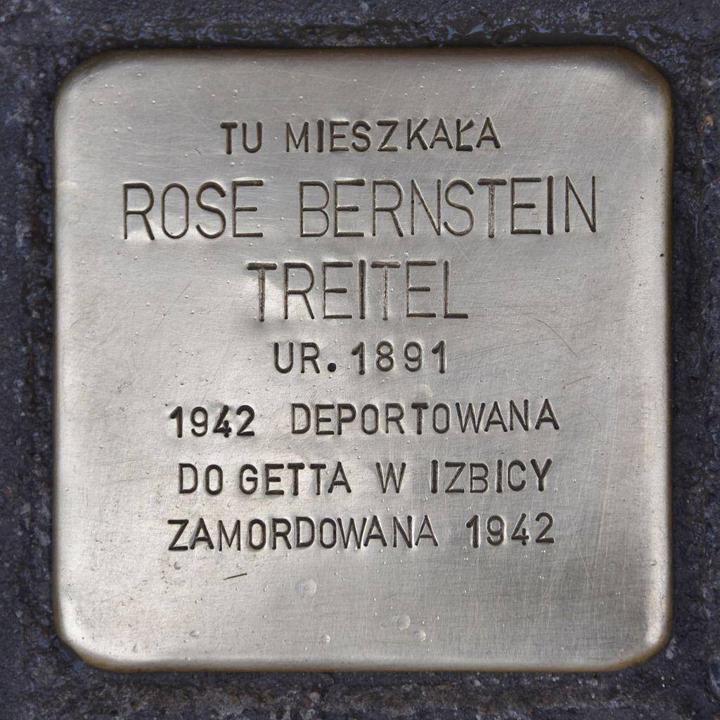Stolperstein für Rose Bernstein Treitel.JPG