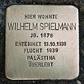 Stolperstein für Wilhelm Spielmann.JPG