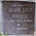 Stumbling block for Johann Josef Mombour (Michaelstraße 2a)