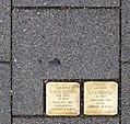 Stolpersteine Köln, Verlegestelle Brüsseler Straße 89.jpg