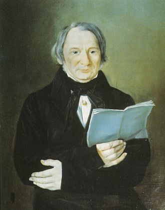 Pierre Flor - Portrait of Norwegian politician and publicist Pierre Poumeau Flor