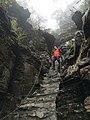 Stone steps, Mount Fanjing, Picture9.jpg