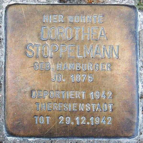 File:Stoppelmann, Dorothea.JPG