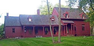 East Fishkill, New York - The Storm-Adriance-Brinckerhoff House, built in 1759