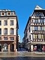 Strasbourg-Entrée de la rue de l'Outre depuis la place Kléber.jpg