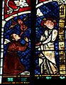 Strasbourg Cathedral - Stained glass windows - Jesus healing the demon-possessed.jpg
